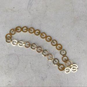 ▪️Escada▪️vintage chain link belt